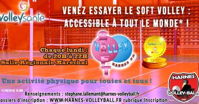 Le HVB reconnu par la F.F.V.B. pour son Volley Santé !