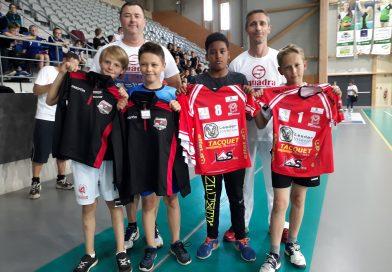 Les écoles ont investi la Salle Maréchal pour le tournoi annuel