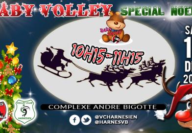 Baby volley spécial Noël