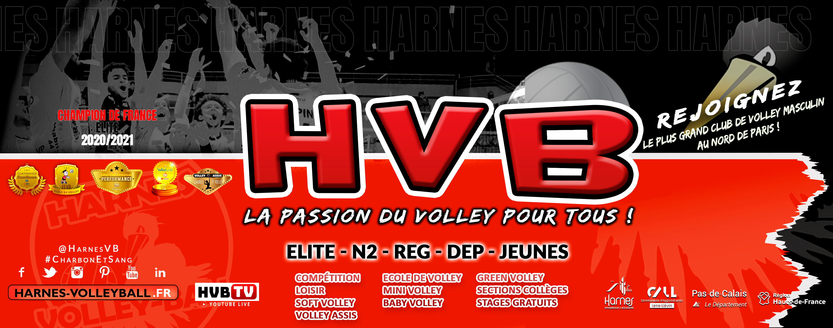 HARNES VOLLEY-BALL